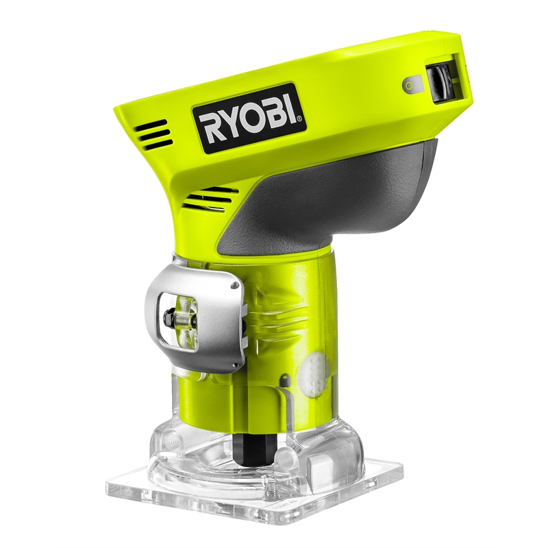 ryobi one cordless trim router 18v skin only bunnings. Black Bedroom Furniture Sets. Home Design Ideas