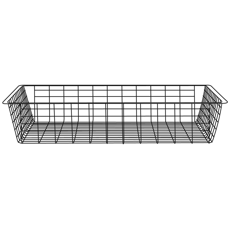 Clever Closet Wire Basket 1 Runner 85mm White | Bunnings Warehouse