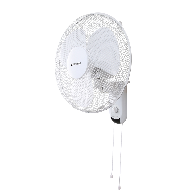 Euromatic 40cm Wall Fan With Pull Cord Bunnings Warehouse