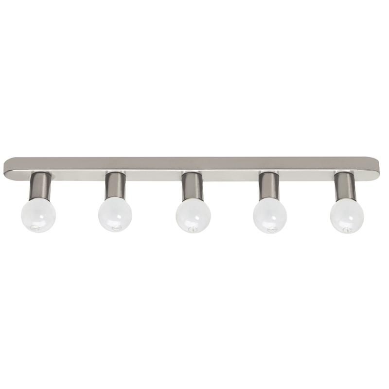 Hollywood Lights Bathroom: Crompton Hollywood Light 5x25w Satin Chrome