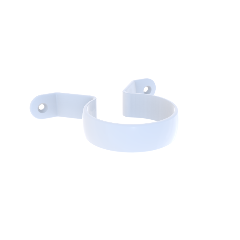 Marley Rp65 174 65mm White Downpipe Saddle Clip Bunnings