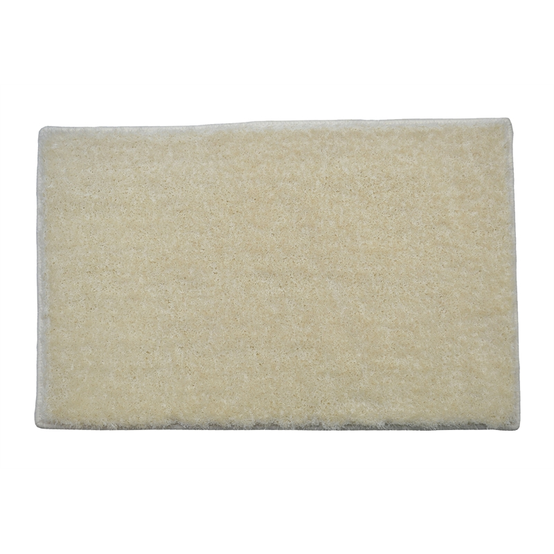Luxe Plush Rug 2100x1500mm Snow