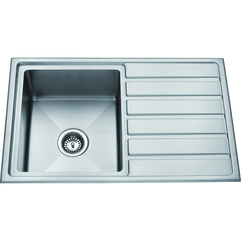 Stainless Steel Sink Inserts : Zen Sink Insert & Drainer 800x500mm Stainless Steel Bunnings ...
