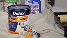 About Dulux's Wash&Wear Low Sheen Interior Paint